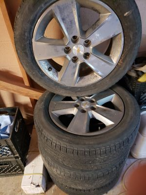 Wheels and tires off of Chevy Equinox