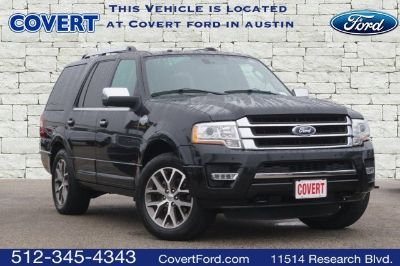 2015 Ford Expedition King Ranch (black)