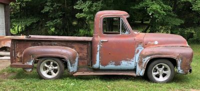 1954 F100 Patina SD Deluxe Cab Rat Street Rod Project C4 Suspension