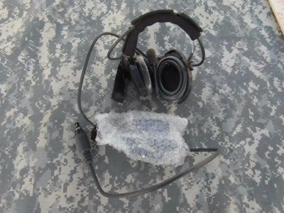 new w/o tags military issue bose triport tactical communication head set 31814
