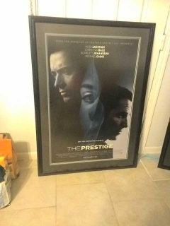 Large black frame with poster 2