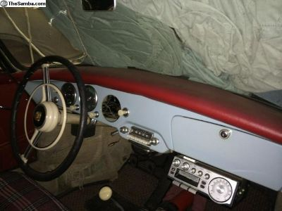 [WTB] Looking for RED Original Dash Pad for Porsche 356