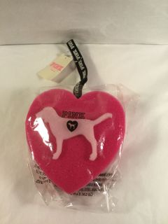 NWT Victoria s Secret Pink Dog Sponge