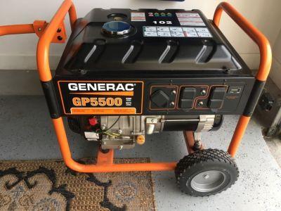 Generac GP 5500 brand new generator