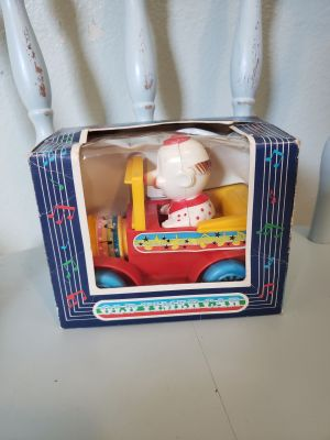 Old time car clown toy