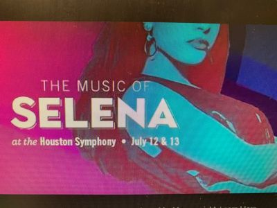 2 Box Seat Tickets to the Music of Selena Summer Concert for Friday July 12 at 70