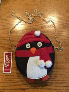 New Holiday Penguin Purse - Macy's - New with Tags