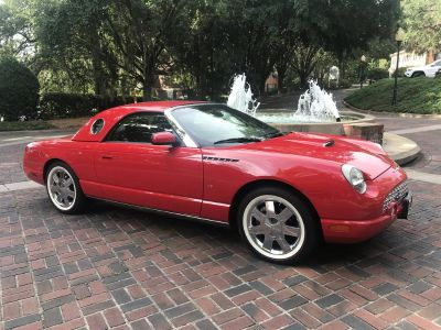 2002 Ford Thunderbird Deluxe (Red)