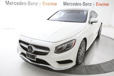 2016 Mercedes-Benz S-Class S550 (White)