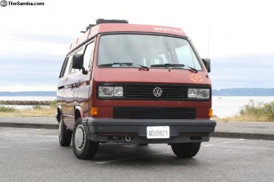 1988 Vanagon Westfalia Camper Bostig Zetec Engine