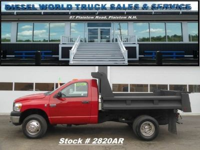 2007 Dodge Ram Pickup 3500 Cummins Diesel Dump Truck