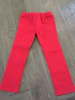 Red jeans size 4T