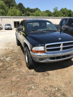 2000 Dodge Dakota SLT (Black)