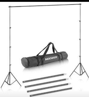 Background Stand Support System 8.5ft x 10ft Kit with Carrying Case