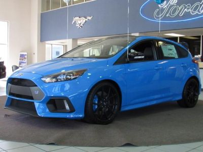 2018 Ford Focus RS Hatch (Nitrous Blue Quad-Coat)