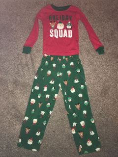 Boys Christmas pajamas size 4t