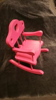 Rocking chair, doll size.