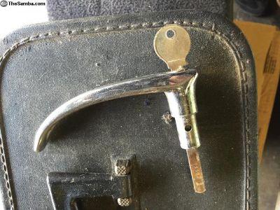 VW Bus cargo door handle