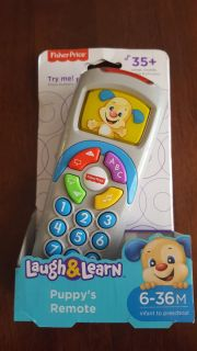 Fisher Price laugh and learn puppy remote