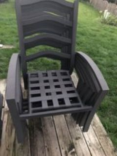 Patio chairs 6