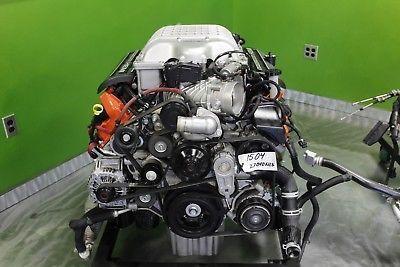 15 Dodge Hellcat 6.2L Supercharged motor W/ harness & Ac