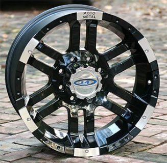 Buy 18 inch Black Wheels Rim MOTO METAL 951 Chevy GM HD Dodge 2500 3500 Trucks 8 lug motorcycle in Hamilton, Ohio, US, for US $619.50