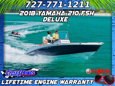 2018 Yamaha 210 FSH Deluxe Jet Boats Clearwater, FL