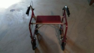Adult Roller Walker with Seat