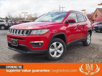 2018 Jeep Compass Latitude (Red Line)