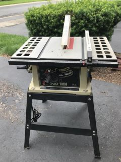 Like New Pro-tech 10 table saw w/stand