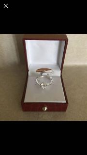 Solitaire Ring Size 10