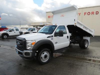 2016 Ford F-550SD (Oxford White)