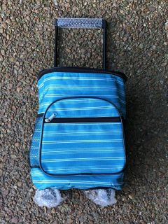Brand New Cooler bag with wheels.