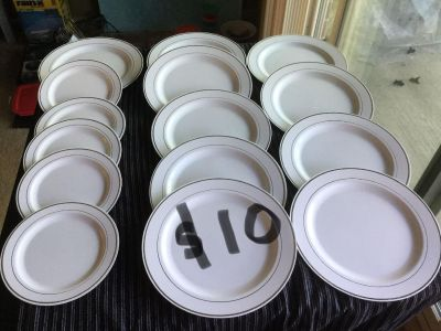 Plates and cups