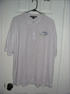 Mens XL Kingwood Mustangs Embroidered Polo Shirt