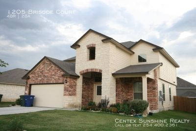 1205 Briscoe Court Copperas Cove, TX 4 Bed/2 Bath