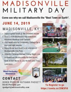 Madisonville Military Day- FREE EVENT and CONCERT