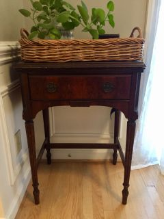 Antique Sewing Machine Table $50
