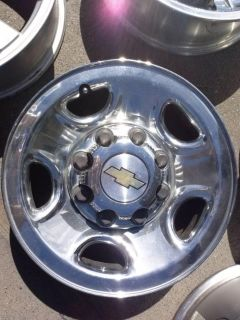 Buy 2004 Chevrolet 2500 Chrome Wheels Rims 8lug 1999 2001 02 03 2004 05 06 07 2008 motorcycle in Fairfield, California, US, for US $90.00