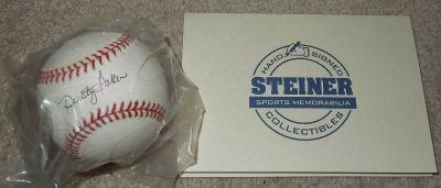 Collectors Dusty Baker Signed Autograph Major League Baseball MLB Cubs 2003COA