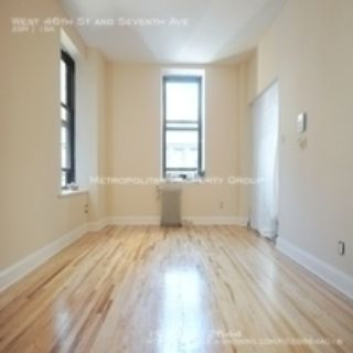 Midtown West - Two Bedroom Doorman Elevator building with large rooms and closets, laundry