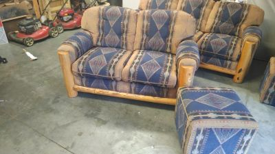 Western couch and love seat
