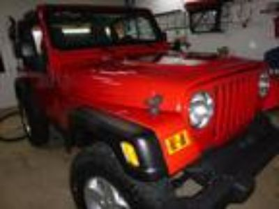 2004 Jeep Wrangler X Sport Utility 4.0L