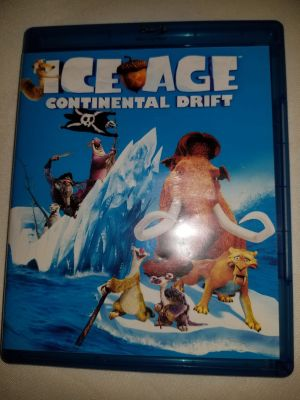 Ice age continental drift (blue ray )