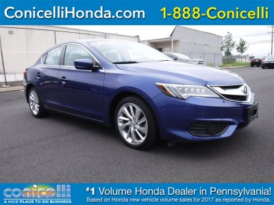2016 Acura ILX with Premium Pkg (Catalina Blue Pearl)