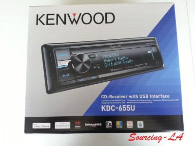 Purchase KENWOOD KDC-655U CAR AUDIO SINGLE DIN CD\MP3 RECEIVER W/ PANDORA motorcycle in Perris, California, US, for US $139.95