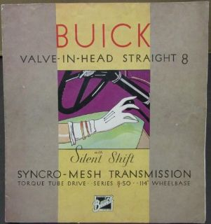 Find 1931 Buick Straight 8 Series 8-50 Silent Shift Color Sales Brochure Original motorcycle in Holts Summit, Missouri, United States, for US $56.00