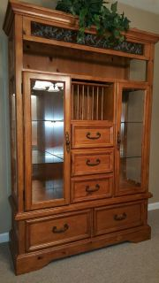 Dinning Table and Hutch