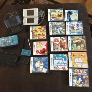 Nintendo DS plus games and accessories