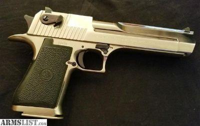 For Sale: Custom Desert Eagle One of a kind .50AE Beautiful as new Custom Desert Eagle
